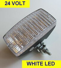 24v volt WHITE 12 x Led's Day Lamp Truck Lorry Spot light BRAND NEW
