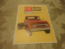 1965 GMC Medium Tonnage Models Gasoline Powered 105'' BBC Brochure