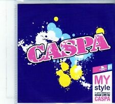 (DU692) Caspa, My Style - 23 tracks mixed live - 2010 DJ CD