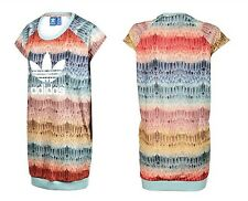 BRAND NEW ADIDAS ORIGINALS FARM MENIRE WOMENS ATHLETIC T SHIRT SWEAT DRESS SZ L