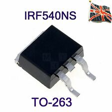 IRF540NS F540NS N-channel Power Transistor 0,044Ω 100V D²PAK IR TO-263 UK Stock