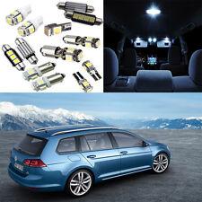 16×white LED Interior light bulb kit for VW Golf MK7 GTI sportwagen (2014-2015)