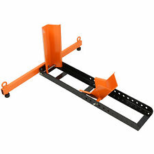 FRONT WHEEL CHOCK MOTORBIKE BIKE TRANSPORT MOTORCYCLE PADDOCK STAND HEAVY DUTY