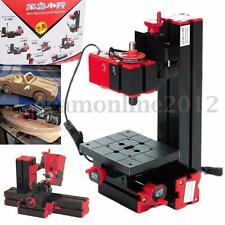 6 In 1 Multi Metal Wood Lathe Motorized Jig-saw Grinder Driller Milling Tool