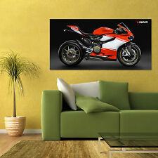 2014 DUCATI 1199 SUPERLEGGERA SPORT BIKE MOTORCYCLE LARGE HD POSTER 24x48in
