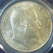 1902 5/- Edward VII silver Crown in an extremely high grade
