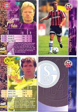 PANINI-Cards Fußball 1996 ~ 3 aus 216 verschiedenen Cards auswählen