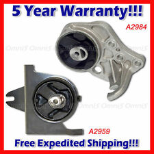 L155 Fit 1996-2000 Caravan/ Grand Caravan 3.0L 3.3L 3.8L Motor & Mount  Set 2PC