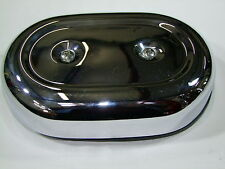Harley Davidson filtro aire cover aircleaner tapa Sportster sin placa de masa