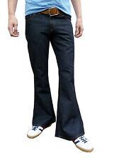mens denim bell bottom flares jeans flared vtg 60s 70s