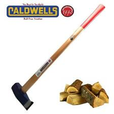 CALDWELLS HICKORY LOG SPLITTING MAUL 6.6lb 3kg FIRE WOOD LOGS SPLITTING