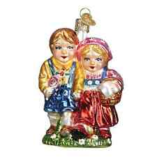 """Hansel & Gretel (24168) Old World Christmas Glass Ornament"