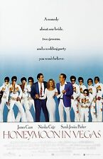 Honeymoon In Vegas movie poster print - Sarah Jessica Parker, Nicolas Cage