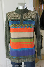joli pull laine d'agneau col boutonné KENZO KIDS size 14 ans 162 cms