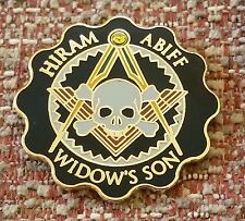 MASONIC HIRAM ABIFF / WIDOW'S SON Lapel Pin