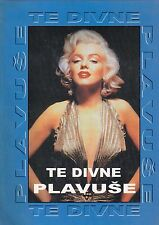 MARILYN MONROE TE DIVNE PLAVUSE BOOK WITH JOKES ABOUT BLONDES STORY M.M. CROATIA