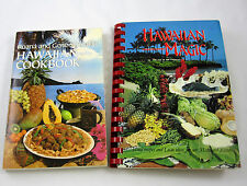 Hawaiian Cookbook Magic Lot of 2 Cook Books Island Recipes Luau Ideas Schindler