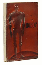 I Robot ~ ISAAC ASIMOV First Edition 1st WRAPS / Armed Service 1950 Gnome Press