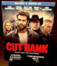 Cut Bank (Blu-ray Disc, 2015) With Slip Cover And Digital Copy; Ultraviolet