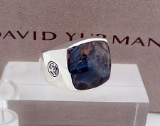 DAVID YURMAN Exotic Stone Collection Pietersite RING in Sterling Silver