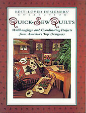 Best Loved Designers QUICK SEW QUILTS BOOK Wallhangings + Coordinating Projects