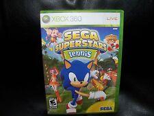 Sega Superstars Tennis  (Xbox 360, 2008) EUC