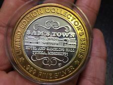 Limited Edition Collectors Series Sam's Town .999 Fine Silver Gaming Token