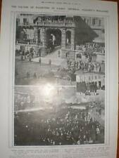 WW1 photographs General Allenby enters Cairo Egypt 1918