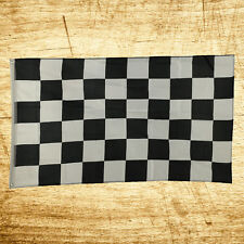 New 3x5 Racing Black and White Checkered Flag Indoor Outdoor Polyester