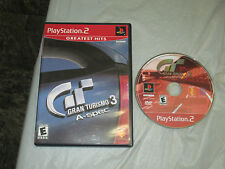 Gran Turismo 3 A-spec Greatest Hits (PlayStation 2, PS2) with box