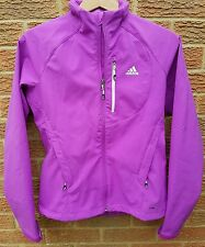 womens/girls adidas softshell jacket uk size 10.. FABULOUS COLOUR!!