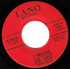 THE DEE VINES - I BELIEVE (LANO 2001) CLASSIC!!!
