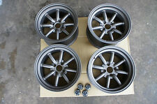 "JDM 15"" MX5 mx-5 miata eunos civic integra Banana wheels rims rkr watanabe Style"