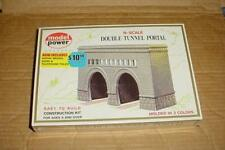 "MODEL POWER ""N"" SCALE DOUBLE TRACK TUNNEL PORTAL KIT  #1521 (NEW)"