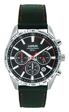 LNP OS RT301DX9  Lorus Gents Chronograph Date Display Rubber Strap Sports Watch