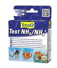 Tetra Ammonia NH3/NH4 Test Kit Freshwater Marine Pond Aquarium Fish