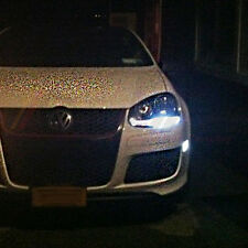 VW Golf MK5 V TDI GTI TSI Xenon ICE WHITE 8 SMD Side Light LED Bulbs -ERROR FREE