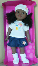 "EPI Divah Collection Positively Perfect African American Doll Zair 18""Large"