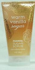 1 Bath & Body Works Warm Vanilla Sugar Hand & Body Foaming Sugar Scrub
