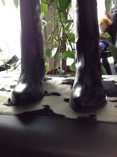 MIA Black Leather Riding Boots size 6 NEW in Box
