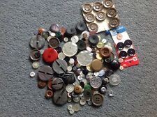 vintage mixed buttons approx 200g