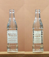 Wieco Carbonated Beverages ACL 7 1/2 oz Soda Pop Bottle Wiesman Marion Wisc 574