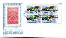 C97 31c High Jumper, Olympics 1980, Carrollton, plate block, FDC