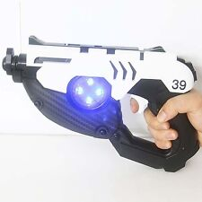 Overwatch OW Tracer Double Two Guns Cosplay Props Original 1:1 ABS Plastic Toys