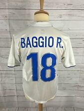 Men's Italy Away Shirt - Small - #18 BAGGIO - 1998 - Great Condition