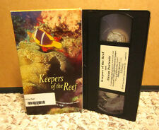 KEEPERS CORAL REEFS documentary Ocean Portraits shipwrecks Bermuda VHS Benchley