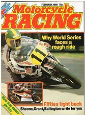 Motorcycle Racing Feb 1980 Coulon Baldwin Mamola Ekerold Rossi Aksland Estrosi