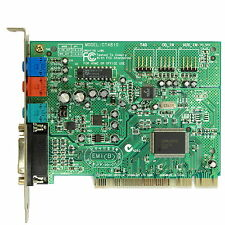 Creative Sound Blaster PCI - Wavetable Soundkarte - gute Windows 9x Soundkarte