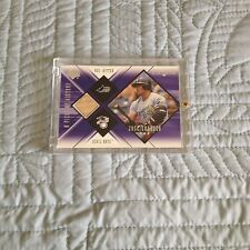 1999-00 Jose Canseco Black Diamond A Piece of History Game Used Bat Card