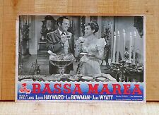 BASSA MAREA fotobusta poster Fritz Lang House by the River Punch Candelabro A92